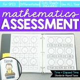 Time Assessments | Digital + Analog Time | Elapsed Time As