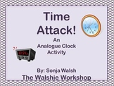 Time Attack! - Teaching Kids to Read an Analogue Clock - Grades 2,3,4