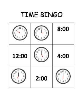 Time BINGO!
