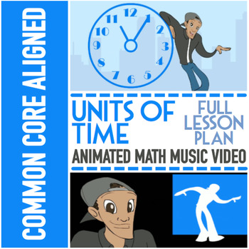 Units of Time ♫♪  Multimedia Enhanced Lesson ♫♪ With Game,