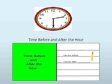 Time Before and After the Hour Interactive Lesson