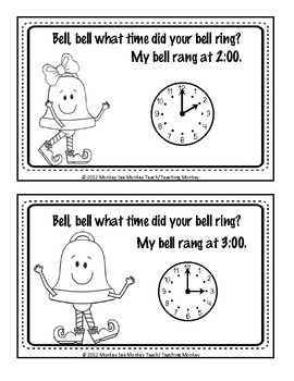 Time: Bells, Bells What Time Is It?  (hour and half hour)