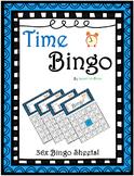 Time Bingo! - Math Bingo (36x Sheets)