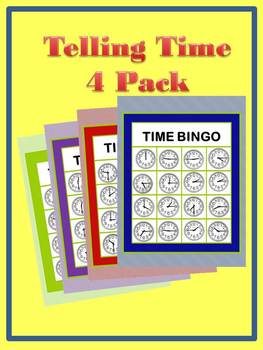 Time Bingo 4-Pack