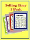 Time Bingo 4-Pack
