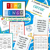 Time Bingo Freebie
