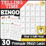 Telling Time Bingo (30 Cards)