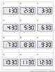 Time Bingo Package - Hour (:00) & Half Hour (:30) Clock Mi