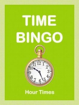 Time Bingo - Hour Times
