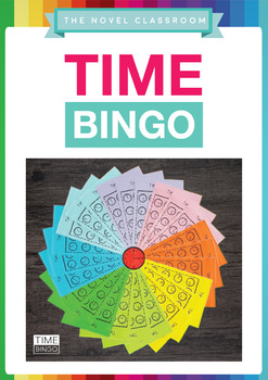 Time Bingo - Maths Measurement Game