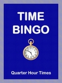 Time Bingo - Quarter Hour Times
