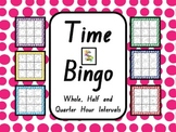 Time Bingo - Whole Class Set (33 BINGO BOARDS)