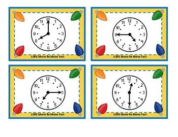 Time: Bulb Bingo/ Christmas