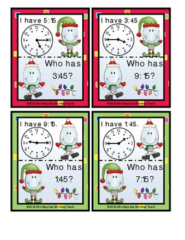 Time: Bulb Time with Lenny and Larry Game 2 / Christmas Theme