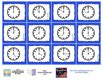 Time Bump Games (Hour and Half Hour)