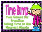 Time Bump-Two Games for Telling Time to the Nearest Minute