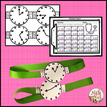 "Time Bundle Up ""Telling Time Games"""
