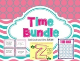 Time Bundle Pack: Time Bingo and Elapsed Time Task Cards
