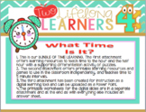 Time Bundle: What Time Is It? A complete program of telling time