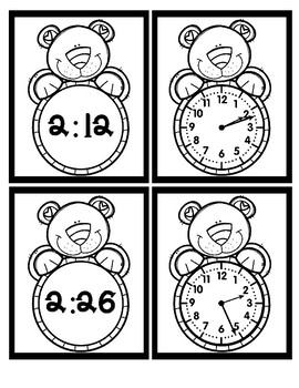 Time - By the Minutes - Bear - Black & White