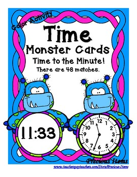 Time - By the Minutes - Monsters