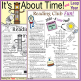 Leap Year 2020 - It's About Time - Puzzles, Activities and