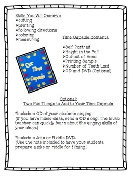 Back To School: Create A Classroom Time Capsule