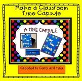Back To School: Create A Classroom Time Capsule Virtual an