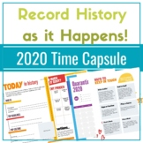 Time Capsule 2020 Worksheets:Journaling Pages