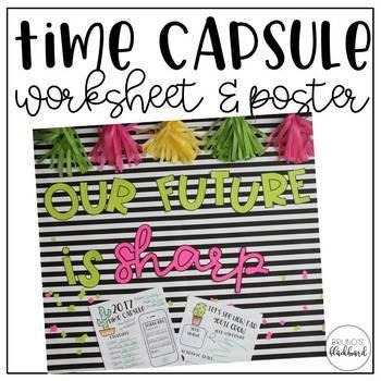 Time Capsule Worksheet & Poster