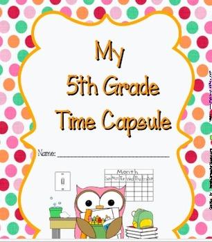 Time Capsule - 5th Grade