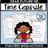 Time Capsule Activity For Back To School