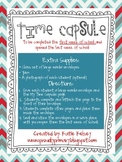 Time Capsule - Back to School