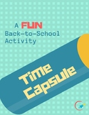 Time Capsule: Back-to-School Activity