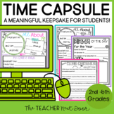 End of the Year Time Capsule Print and Digital for Google™ Distance Learning