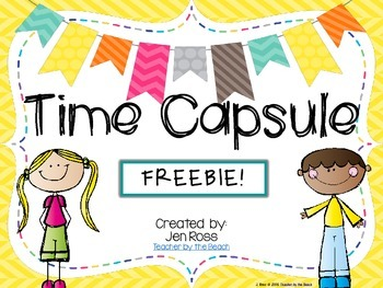 Time Capsule Memory Book FREEBIE