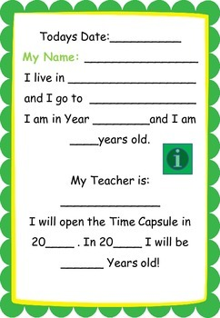 Time Capsule - History