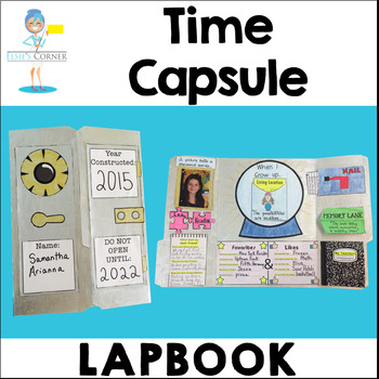 End of the Year Time Capsule and Memory Lapbook