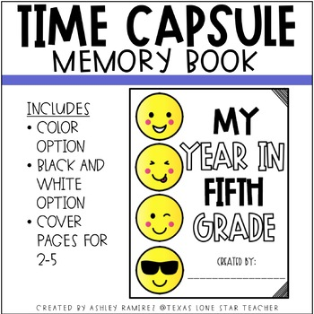 Time Capsule Memory Book