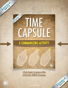 Time Capsule Summary: Informational Text and Main Idea Summary for Any Subject