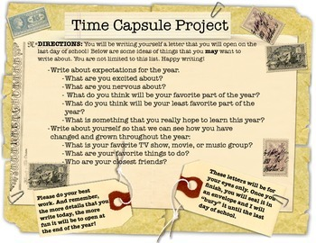 Time Capsule Writing Prompt