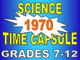 Time Capsule - Year 1970 (science article / weather / STEM / sub plans / key)