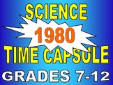 Time Capsule - Year 1980 (STEM article / worksheet / webquest / no prep / key)