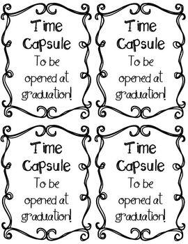 Time Capsule and Memory Book