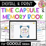 Time Capsule for 2nd & 3rd Grade - Beginning & End of the Year Activity