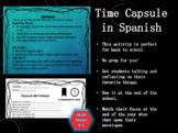 Time Capsule in Spanish/Capsula del Tiempo en Español