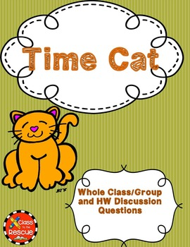 Time Cat by Lloyd Alexander Discussion Questions