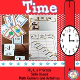 Time  ~ Center Activities and Worksheets