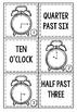 Time Center Cards to the Quarter Hour