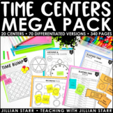 Telling Time Centers Mega Pack
